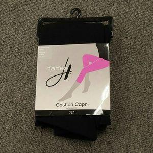 Hanes Cotton Capri tights size Medium